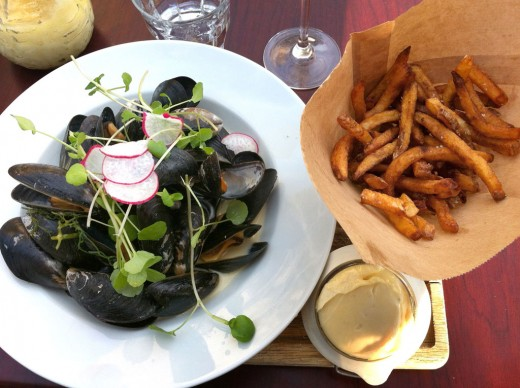 Moules Frites - Overfor