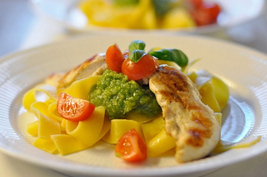 Pasta Pesto 6