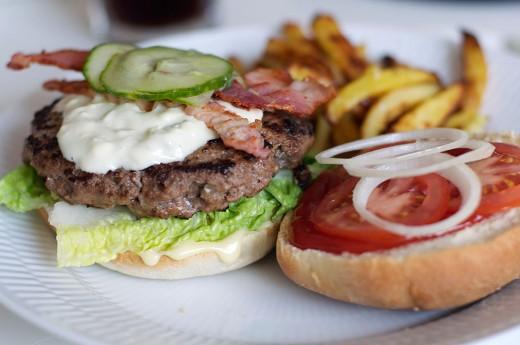 Hjemmelavet burger2