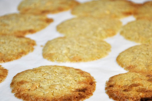 Hvid chokolade cookies7