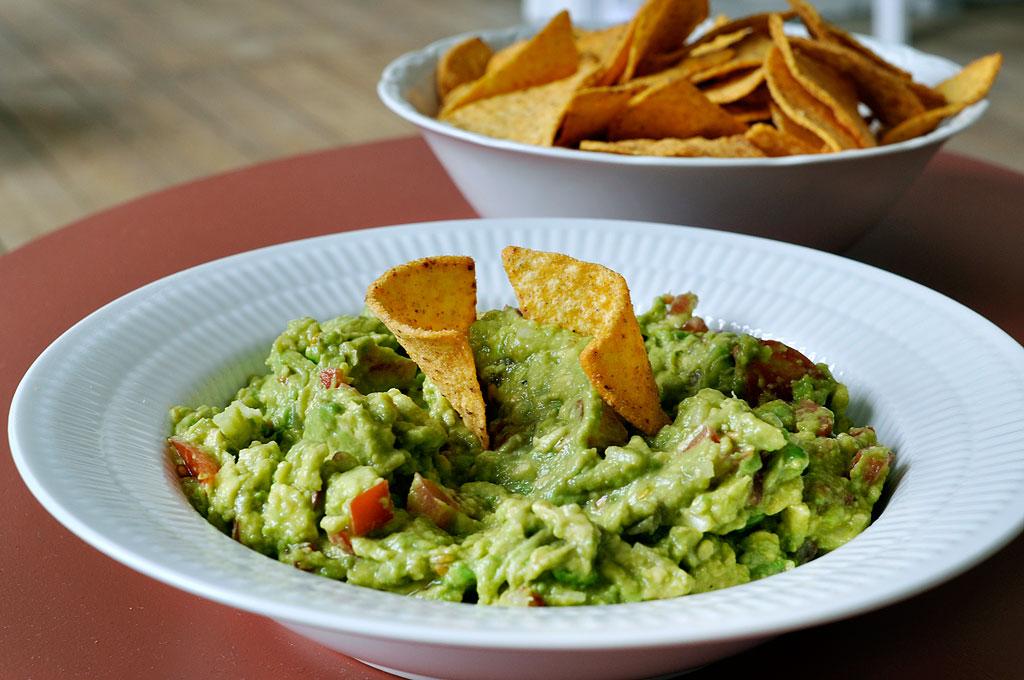 Mexicansk guacamole opskrift