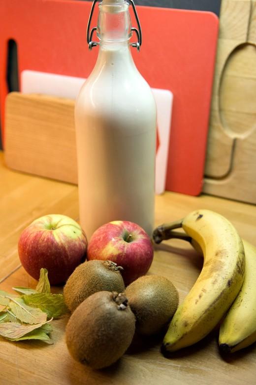 Smoothie-æble-kiwi5