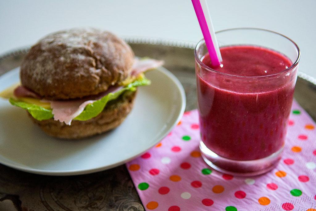 smoothie opskrifter med hindbær