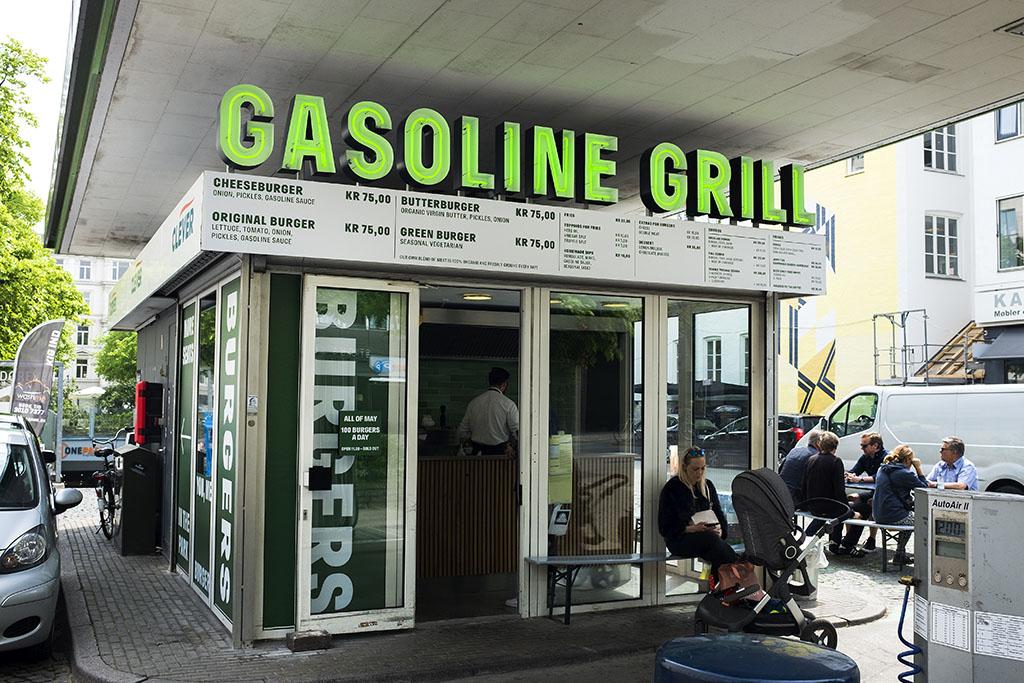 gasoline grill priser